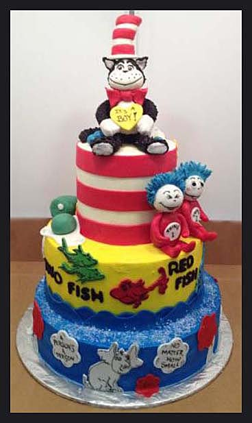 Dr Seuss Cake- His Cakes