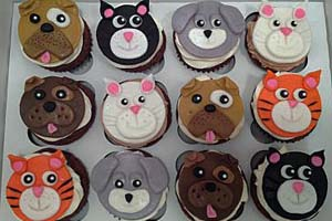 Dog & Cat Cupcakes