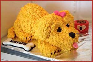 Puppy Cake- Her Cakes