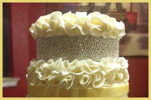 "Make Fondant Ruffle ""flowers"""