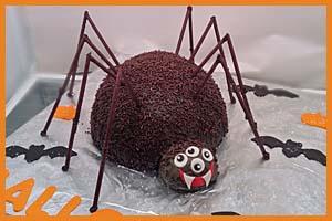 Spider Cake!