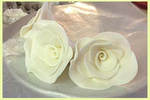 Rose Wedding Toppers