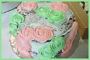 Easter Rose Cake