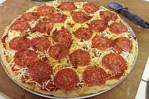 I love Pizza. (Favorite Pizza Dough)